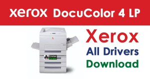 Xerox DocuColor 4 LP Driver Free Download