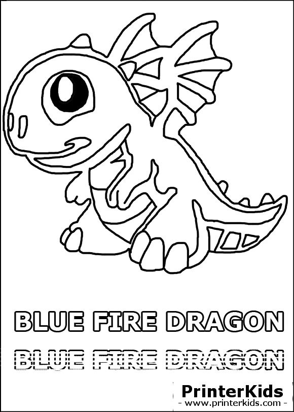 dragonvale blue fire preview