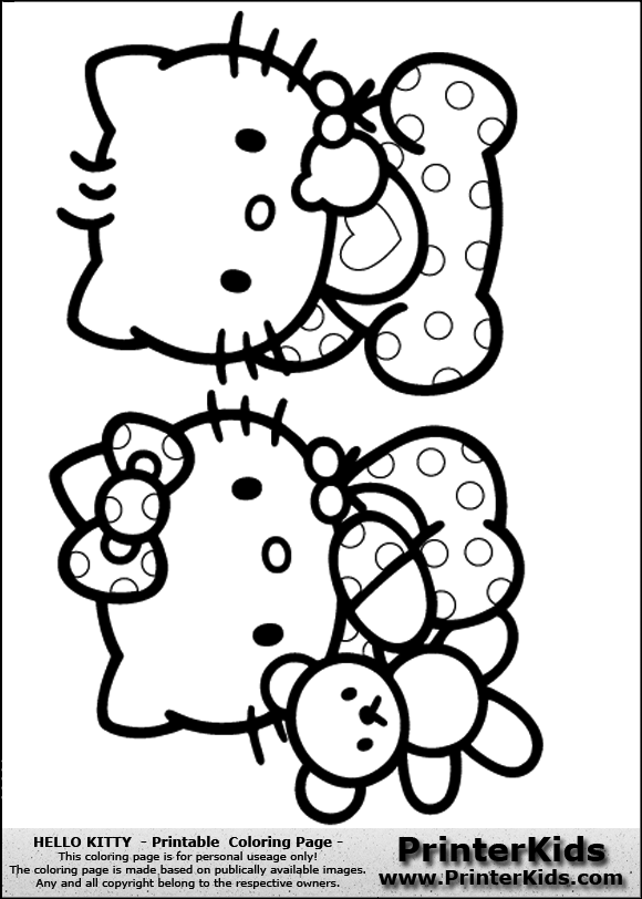 stunning best images of cute nerdy hello kitty printable coloring pages with kitty color pages - Coloring Pages Kitty Nerd