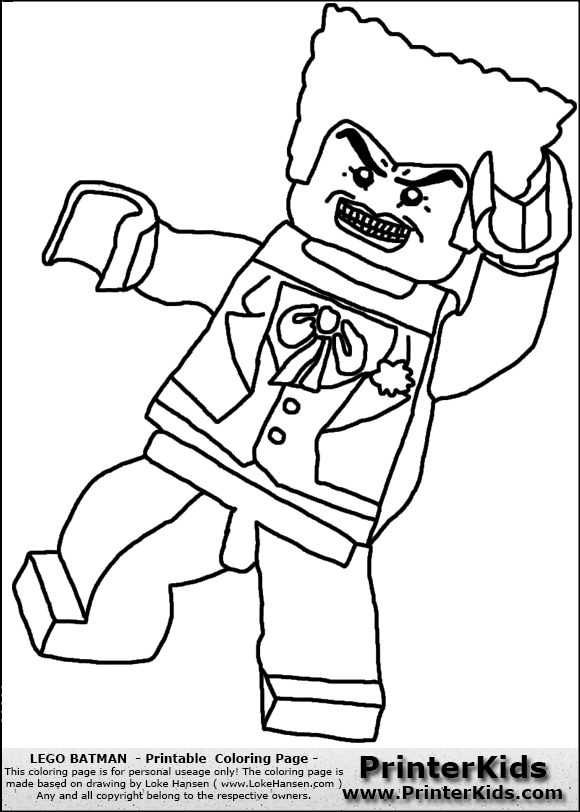 lego batman the joker coloring page preview