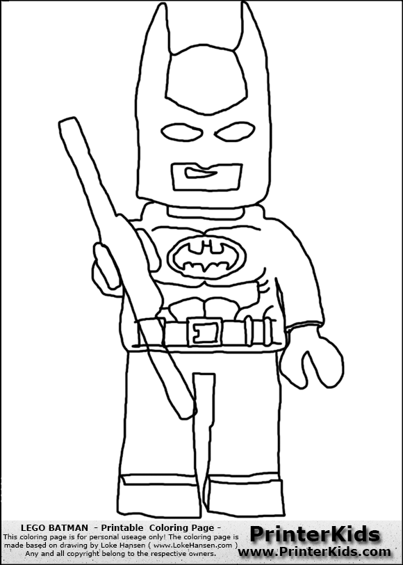 lego batman and robin coloring page color page online