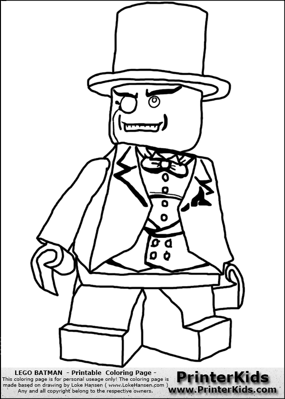 lego batman the penguin coloring page preview