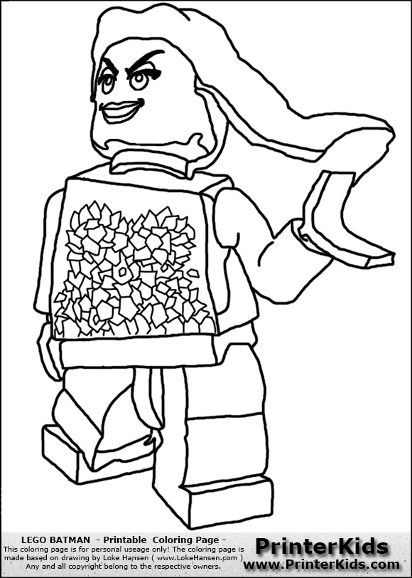 lego batman poison ivy coloring page preview