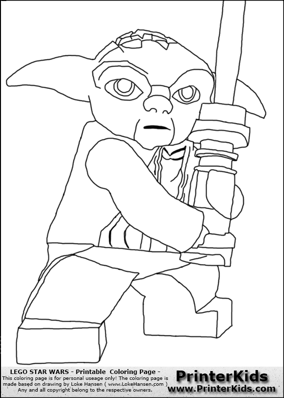 lego coloring pages yoda cooloring com