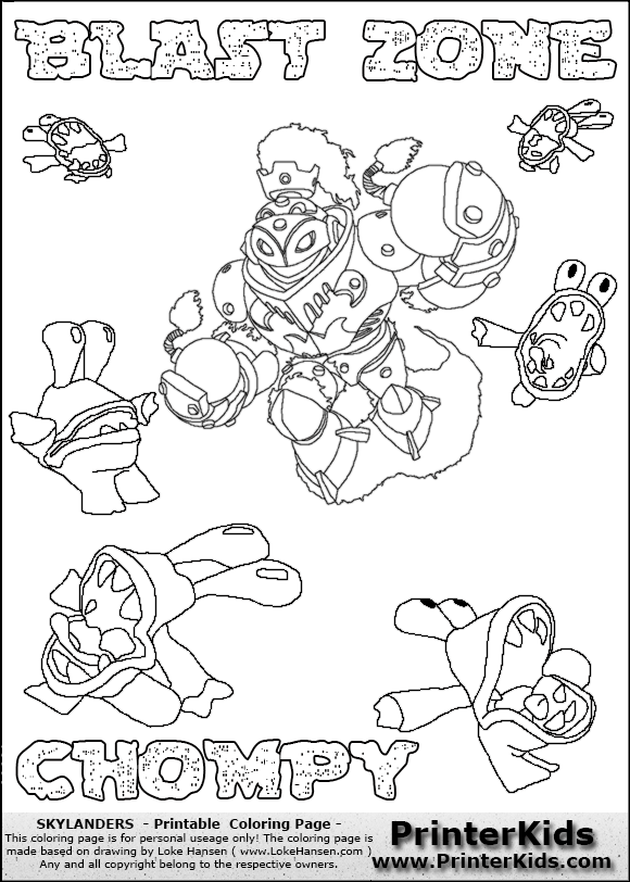 🎨 🎨 Skylanders Free Printable Coloring Pages For Girls And Boys | 812x580