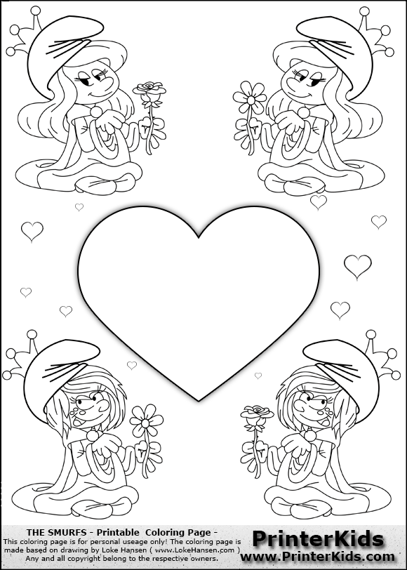 smurfs 2 coloring pages cooloring com