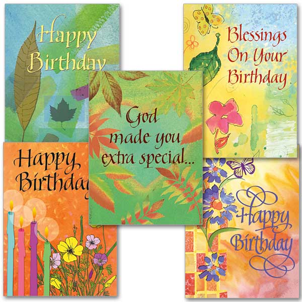 Birthday Blessings Collection Assorted Birthday Cards