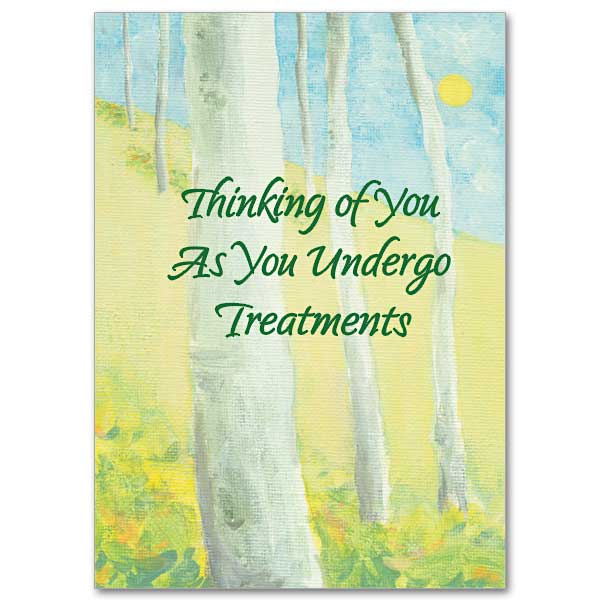 Thinking Of You As You Undergo Treatments Courage For