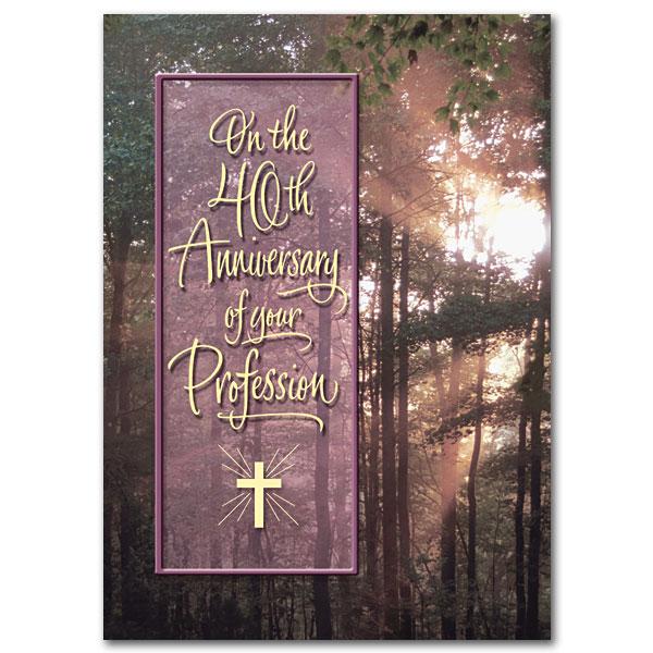 40th Anniversary Of Religious Profession Religious