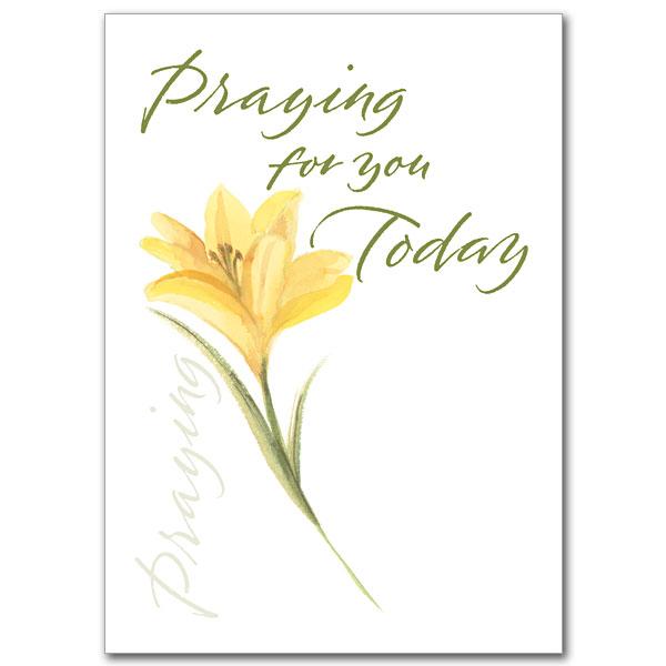 Praying Praying For You Card