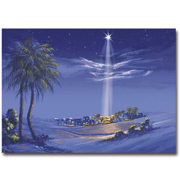 Star Over Bethlehem Christmas Classics Miracle Card