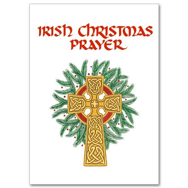 Irish Christmas Prayer Miracle Irish Christmas Card