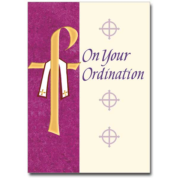 On Your Ordination Ordination Congratulations Card