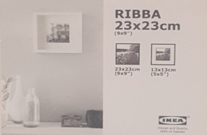 Ribba packaging