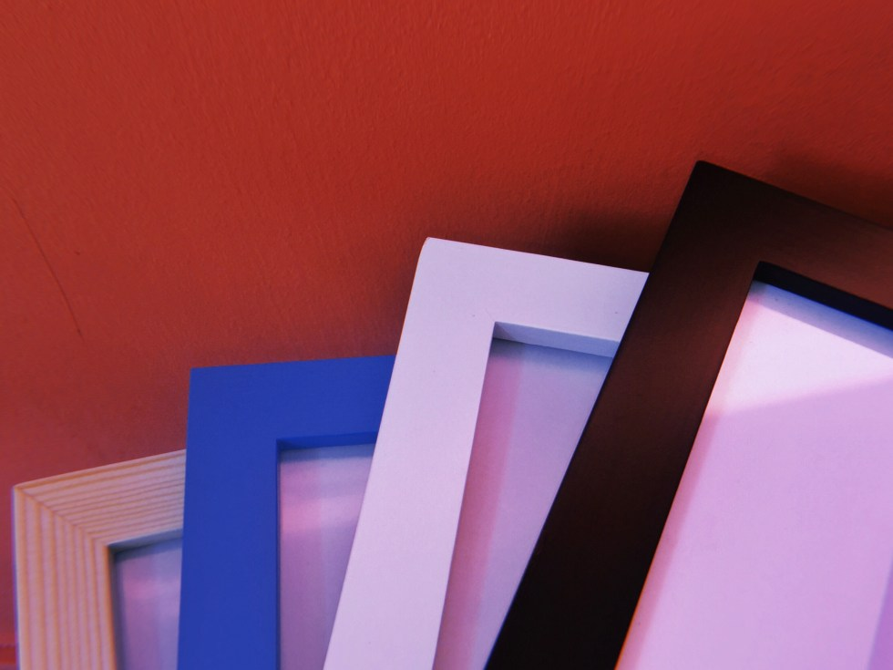 Different Colours of Square Frames Available