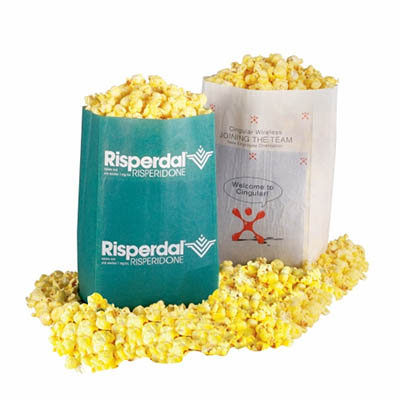 printed microwave popcorn bags