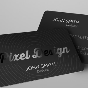 Business Cards Silk Laminated