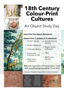 Flier for 18th-Century Colour Print Cultures
