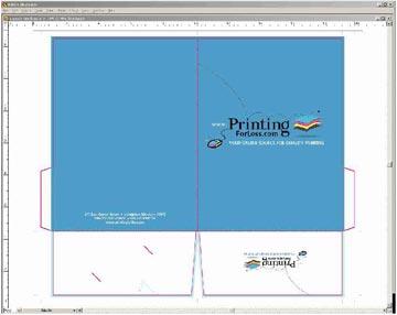 Presentation Folder Design And Layout Templates Instructions