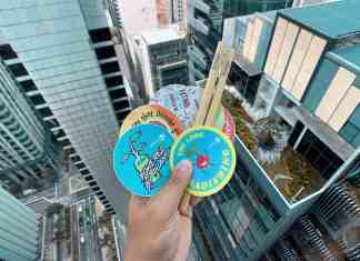 Bamboo straws, vegan stickers, and skyscrapers.