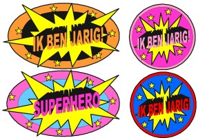 Prikkers superhero