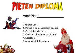 pieten-diploma