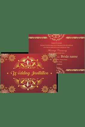 customized wedding cards online