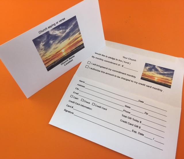 Remittance Envelopes Donation Envelopes Fundraising