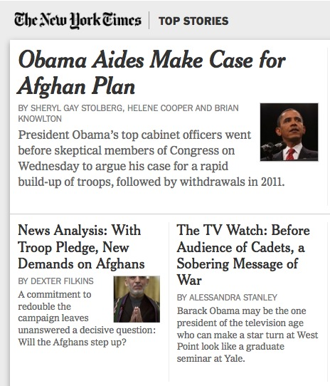 The New York Times- TOP STORIES
