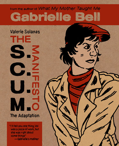 Hypothetical cover for Gabrielle Bell