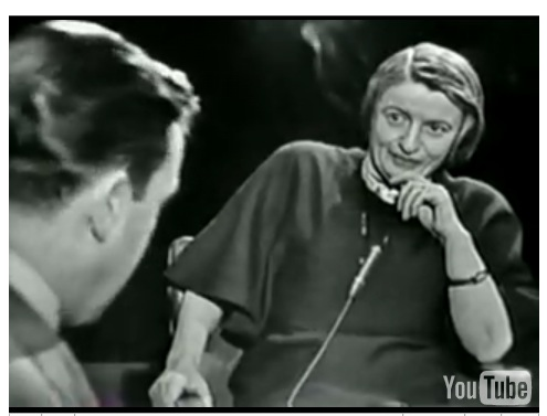 Ayn Rand in an interview
