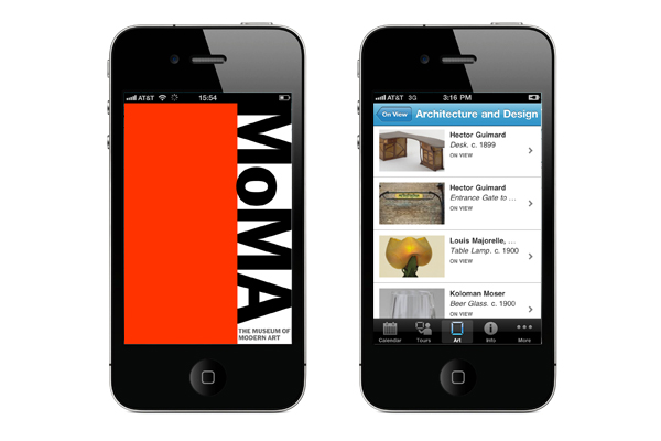 Thumbnail for MoMA iPhone Application