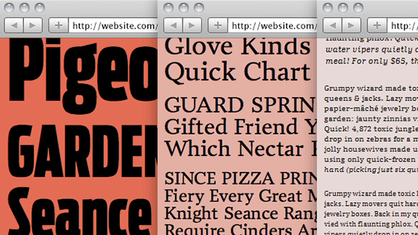 Thumbnail for Today's Obsession: Web Type