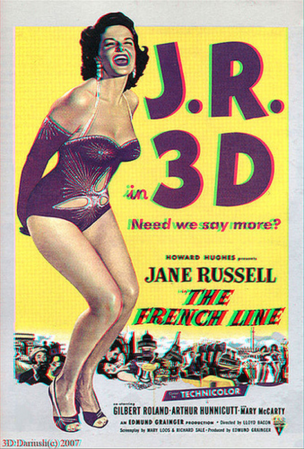 Jane Russell at the french line