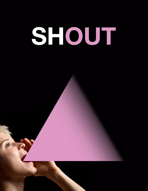 Shout Poster