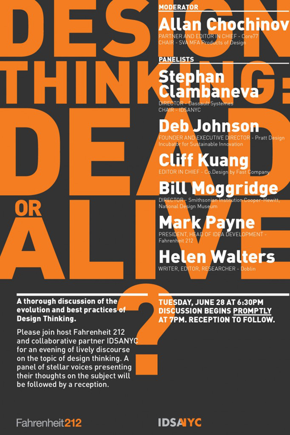 Design Thinking: Dead or Alive?