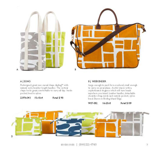 Line of bags