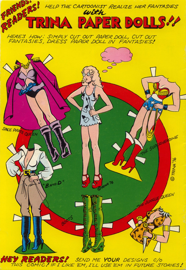 Thumbnail for Trina Robbins on Comics Heroines, Feminism, and Lacy Underthings
