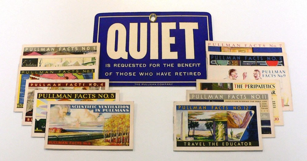 Pullman Fact Booklets 1929-30
