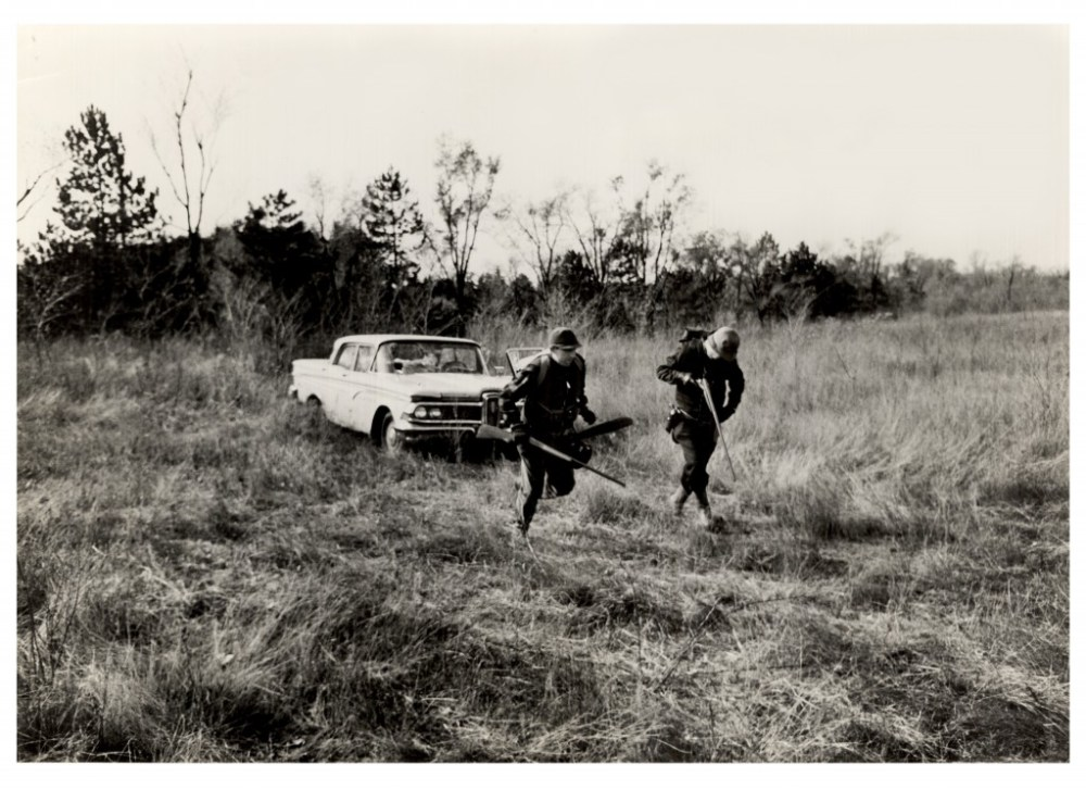 """Shot from Joe Sedelmaier's short film """"Because That's Why"""" 1968"""