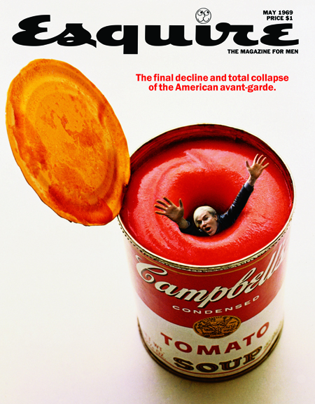 Esquire covers Lois art directed in the 1960s and 1970s.