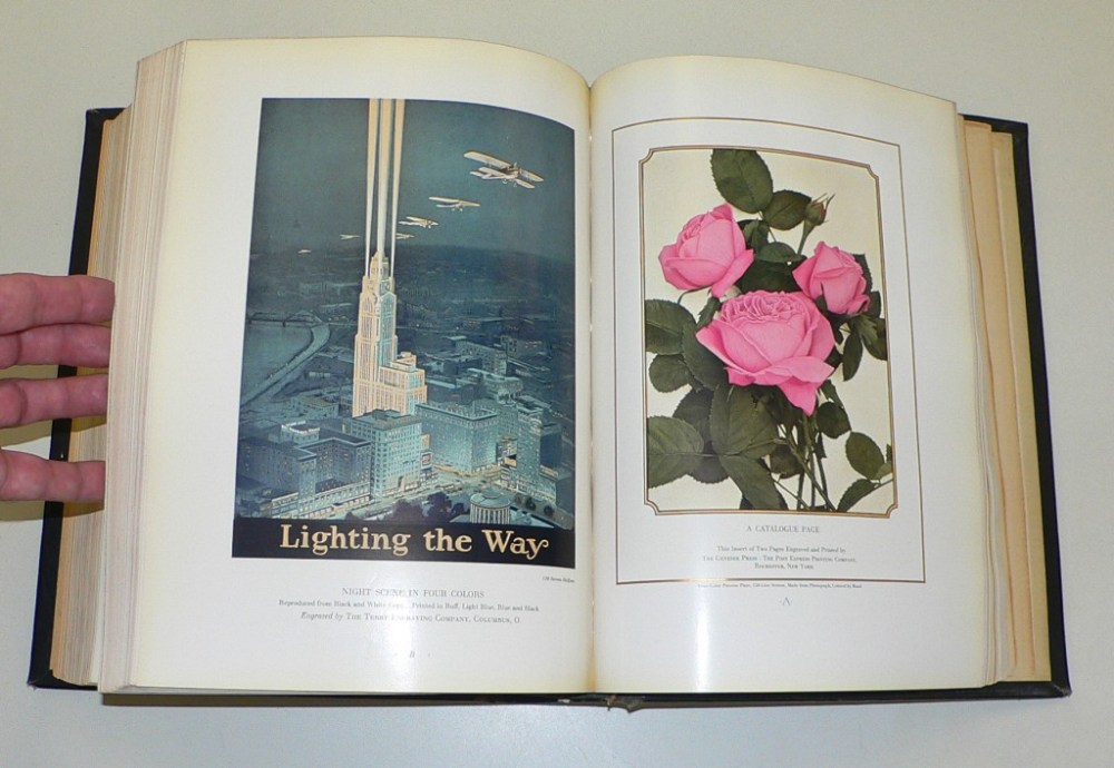 Greeting-card treatments designed and printed by the Gibson Art Co., Cincinnati, Ohio