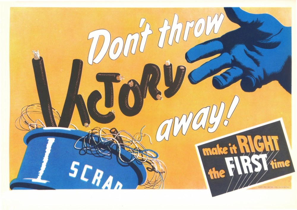 Don't throw victory away!