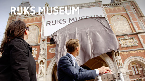Thumbnail for Irma Boom Designs a New Logo and House Style for the Rijksmuseum
