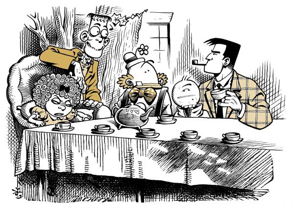 Thumbnail for Comics in Wonderland: Roger Langridge's Lewis Carroll Mash-up