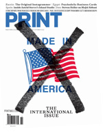 October 2012 issue of Print