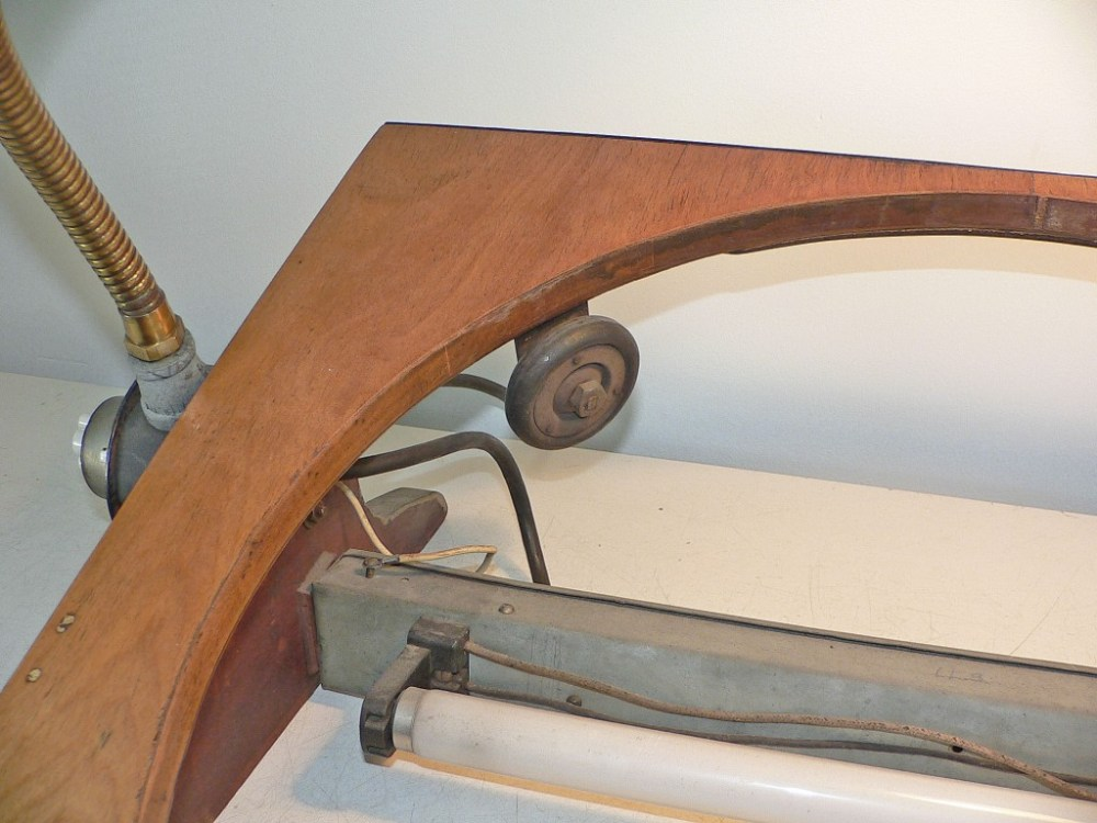 The wheels on the top are attached with special brackets.