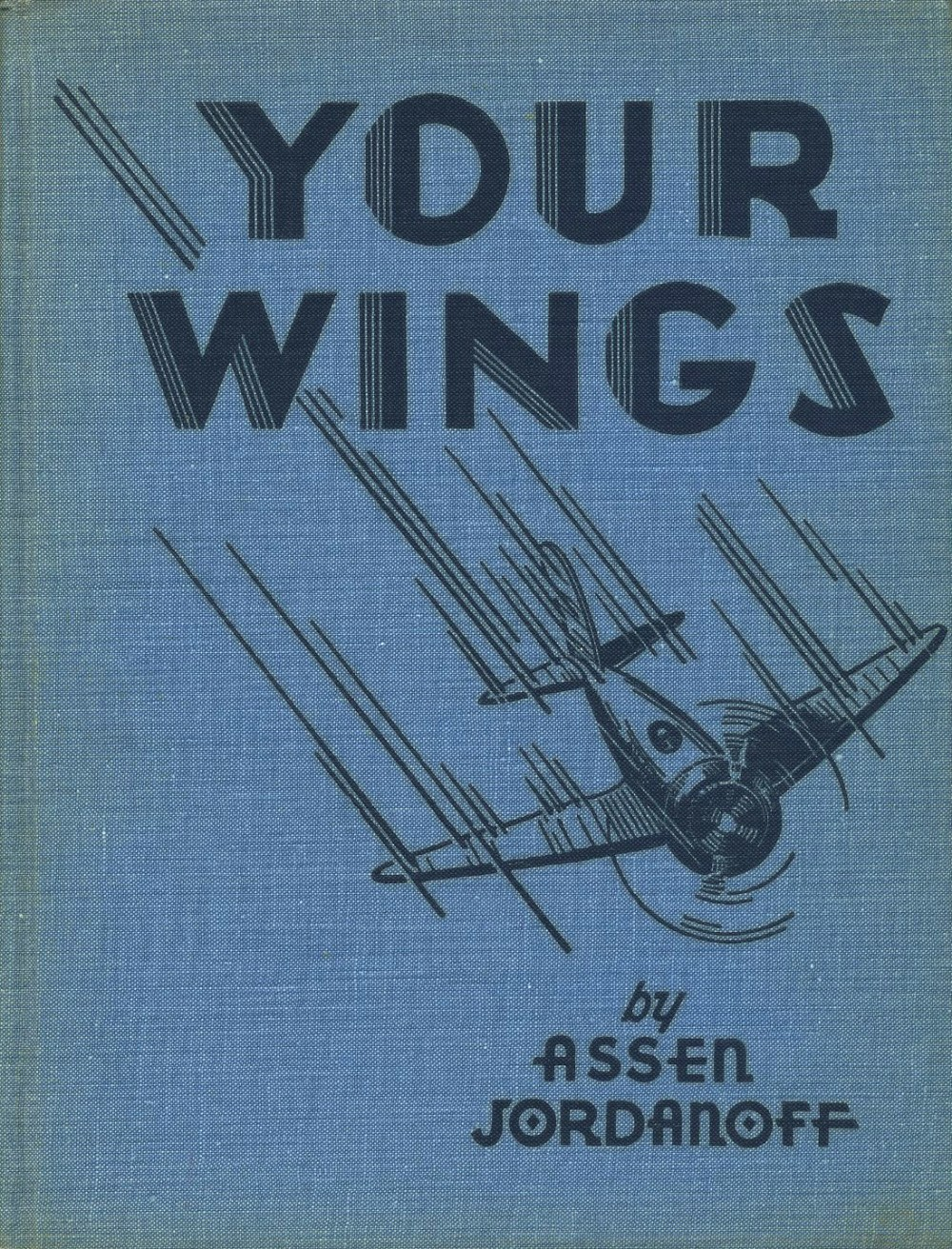 """The boards of """"Your Wings"""" also displaying a Frank Carlson illustration."""