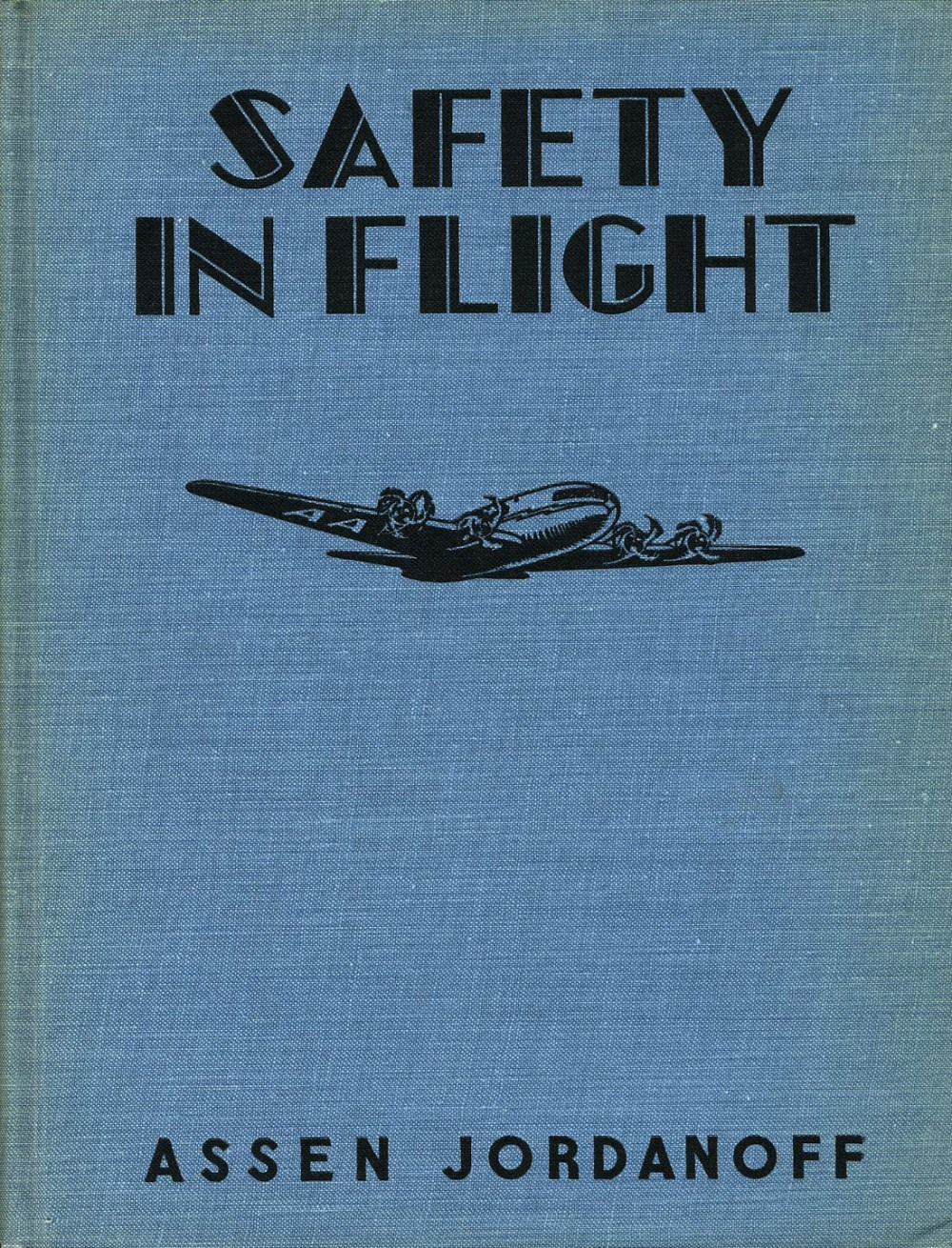 """""""Safety In Flight"""" boards with design also by Meagher."""