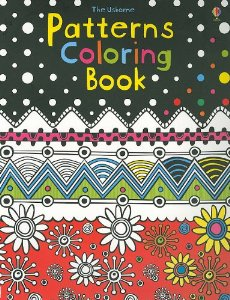 Patterns Coloring Book by Kirsteen Rogers, $5.39